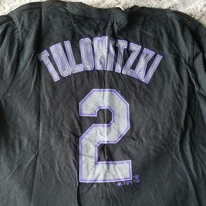 🆕️Rockies Tulowitzki #2 XL Cotton T-Shirt